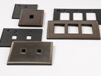 Blanking, Forming, Vibratory Deburring & Powder Coating of Magnetic Face Plates